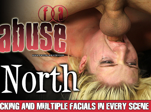 Holly North Gets Face Fucked